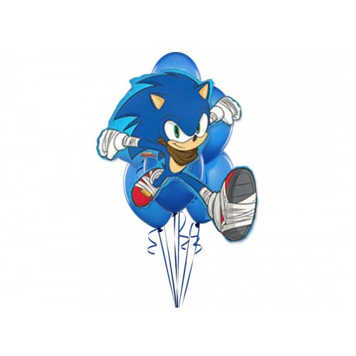 Palloncino supershape Sonic The hedgehog