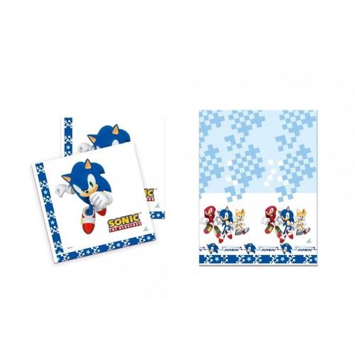 Set tovaglia e tovaglioli Sonic