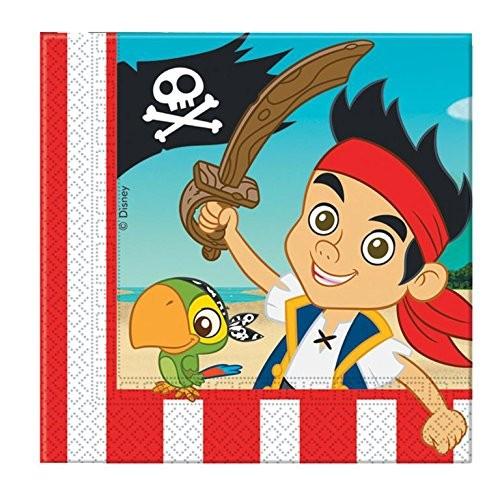 Tovaglioli Jake e i pirati, 20 px da 33x33 cm