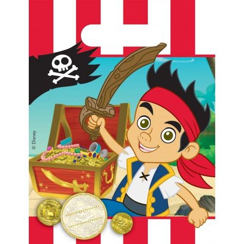 Bustine Jake e i pirati - confezione da 6