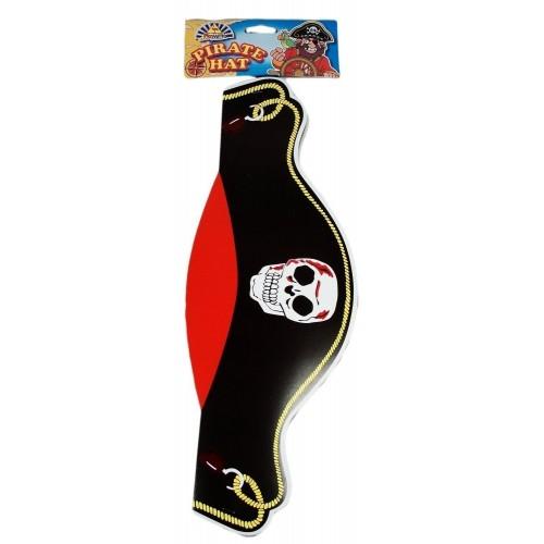 Cappellini Pirati in carta - confezione da 12
