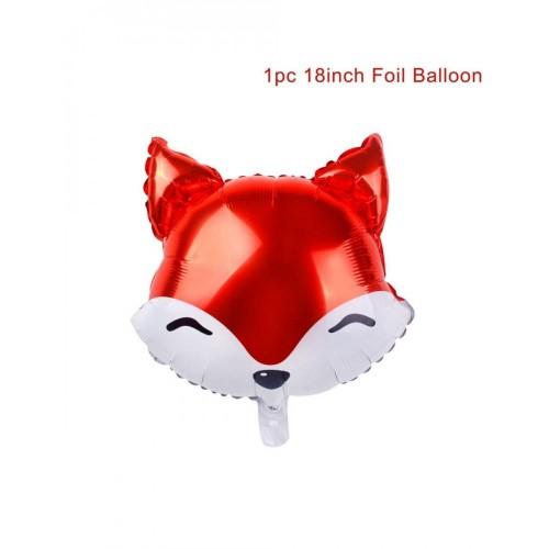 Supershape Volpe, palloncino in alluminio fox per feste