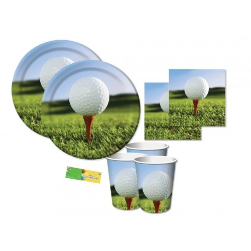 Kit per 16 persone Golf Party