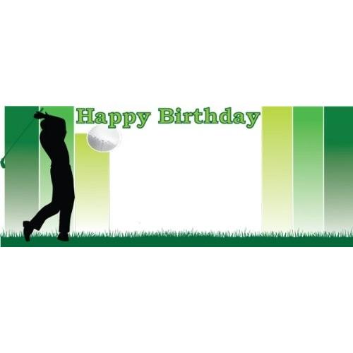 Festone / banner tema Golf