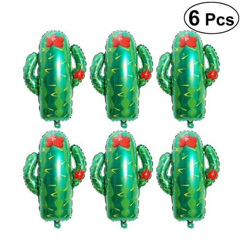 6 palloncini Cactus