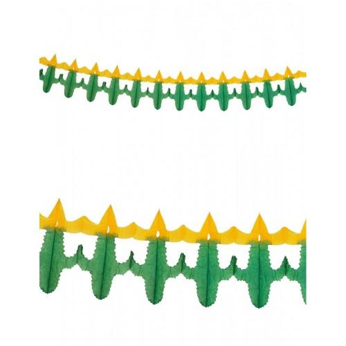 Ghirlanda di Carta Cactus