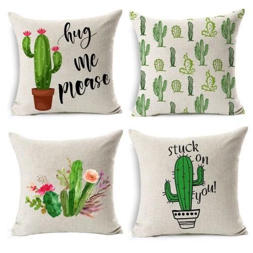 Fodere cuscino tema cactus