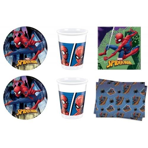 Kit compleanno Spiderman Marvel