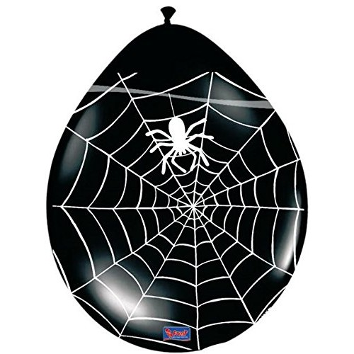Palloncini in lattice Spiderman, 8 pz da 30 cm per feste