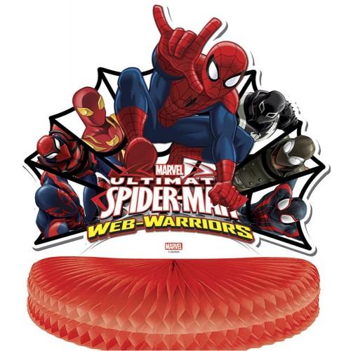 Centrotavola Spiderman, 25 cm, Web Warrios