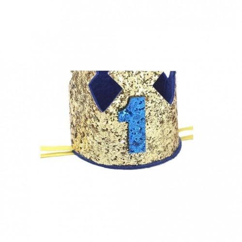Corona Piccolo Principe con numero 1