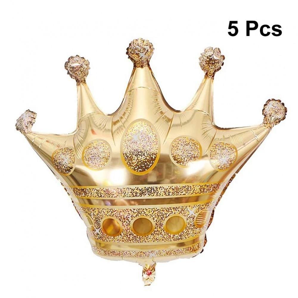 5 palloncini corona in mylar