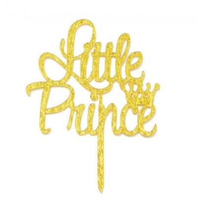 Cake topper corona Piccolo Principe