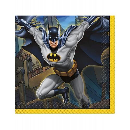 Tovaglioli Batman da 33 x 33 cm