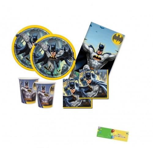 Kit 32 persone Batman, coordinato tavola