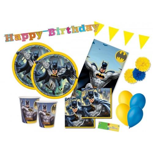 Kit 32 persone con palloncini Batman per feste