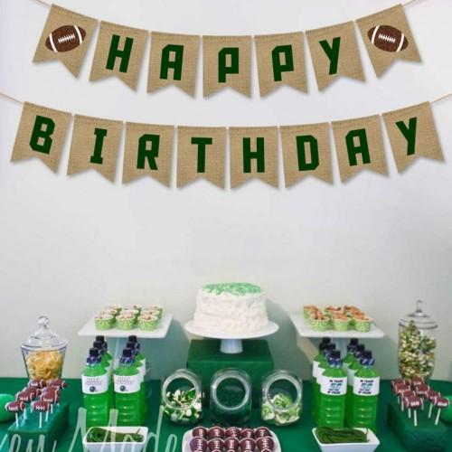 Ghirlanda Rugby Happy Birthday