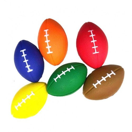 6 antistress forma Pallone Rugby