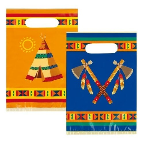 6 Bustine per caramelle tribù Indiani