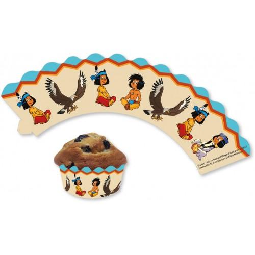 12 Fascette per Cupcake e Muffin