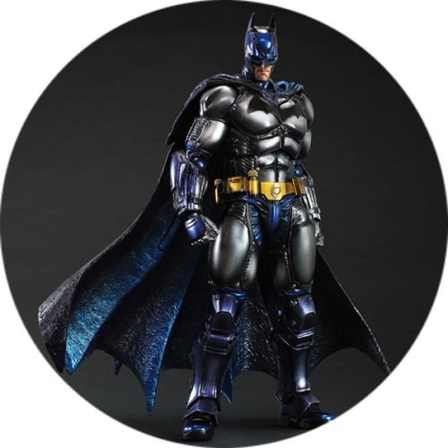 Cialda Batman da 20 cm, per decorare torte