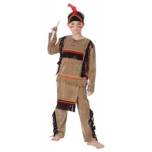 Costume Capo tribù indiano per bambino