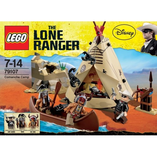 LEGO The Lone Ranger - Accampamento indiani