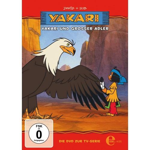 DVD cartoon Yakari und der große Adler
