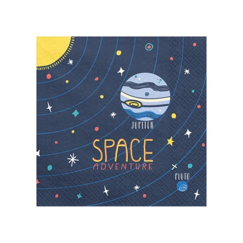 20 tovaglioli Space Party