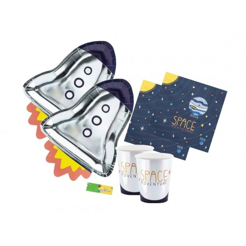 Kit per 60 persone Space Party