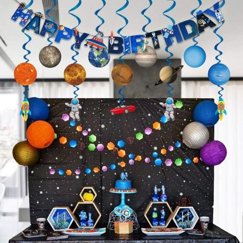 Set decorazioni tema Space Party