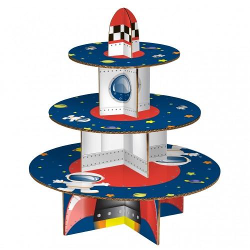 Premier Housewares 0805074 Rocket Stand per Torta a 3 Livelli