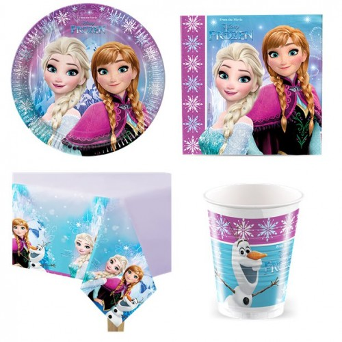 Kit compleanno Frozen 8 persone
