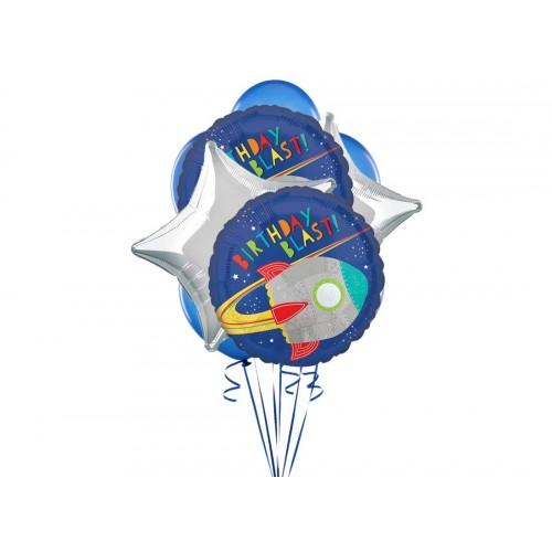 Bouquet palloncini Space party