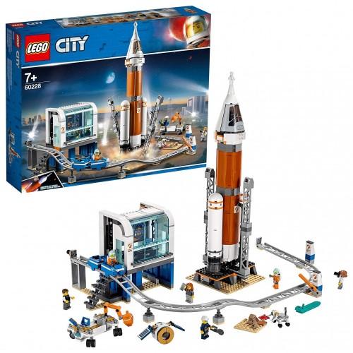 LEGO City Razzo Spaziale e Centro di Controllo Nasa