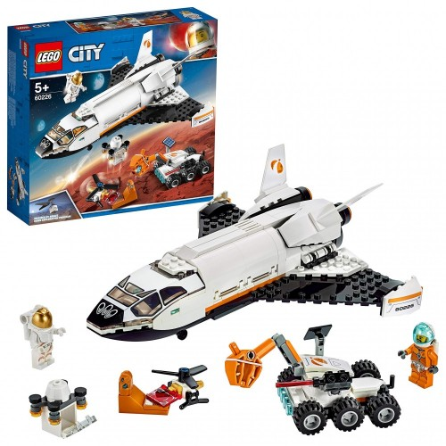 Lego City Space Shuttle di Ricerca su Marte