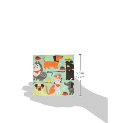 Creative Converting 336048 - Tovaglioli per Feste, Motivo: Cani, Colore: Blu