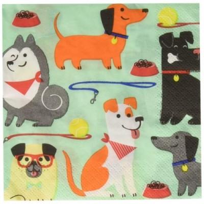 Tovaglioli Dog Party - motivo cani