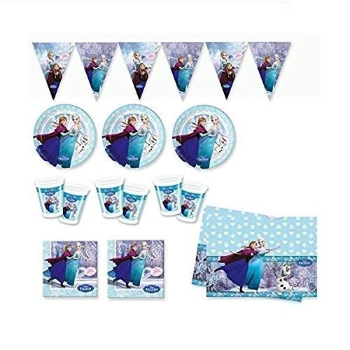 Kit compleanno 24 persone Frozen