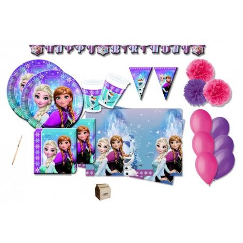 Kit compleanno 32 persone Frozen