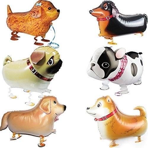 6 Palloncini Dog Party - cagnolini