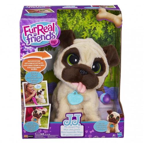 Peluche interattivo Tenero Carlino - FurReal Friends, giocattolo per bambini
