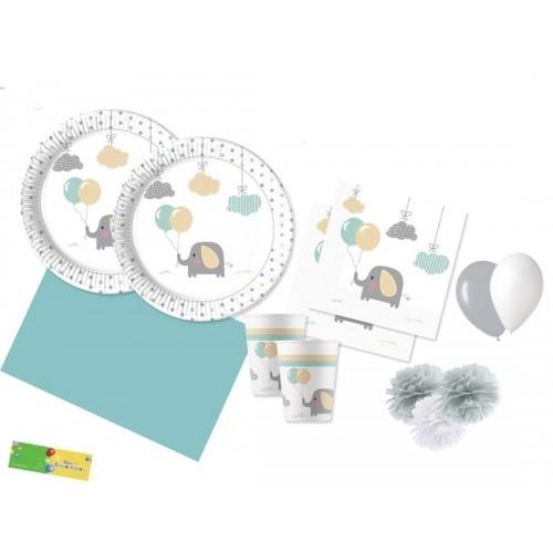 Kit per 8 persone Dumbo - baby elephant
