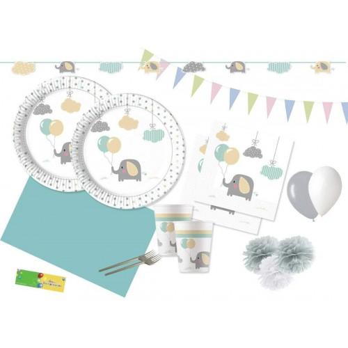 irpot Kit n 64 Baby Elephant Coordinato Festa a Tema