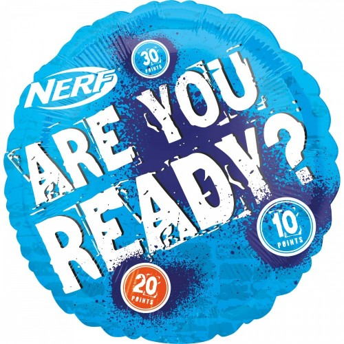 Palloncino Nerf - Are You Ready?