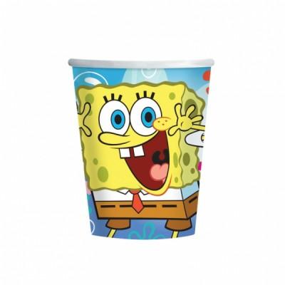 Bicchieri SpongeBob - confezione da 8