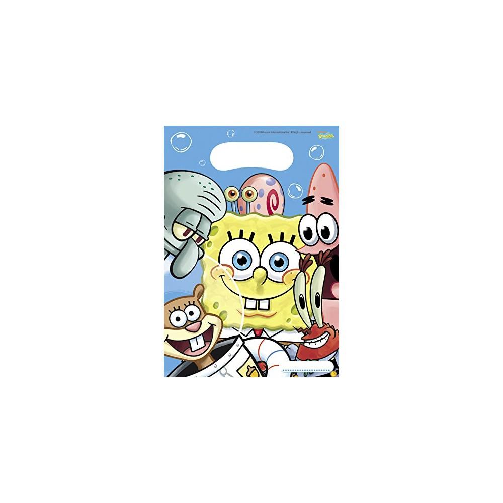 Bustine SpongeBob - confezione da 6 sacchettini