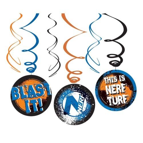 6 festoni pendenti Nerf, armi giocattolo Hasbro