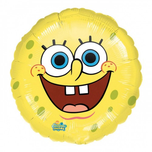 Foil SpongeBob smile 45 cm, per feste e party