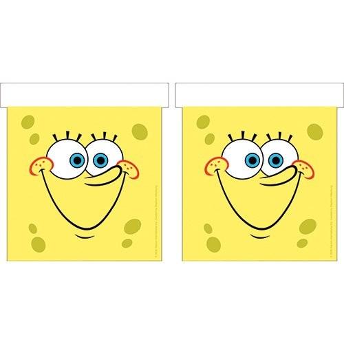 Festone SpongeBob, bandierine rettangolari, 3 mt.